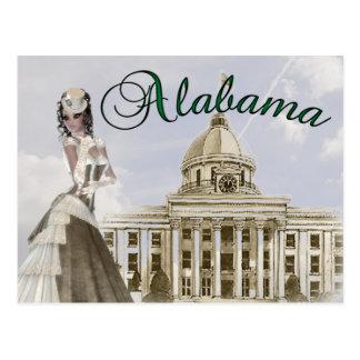 Capital de estado de Alabama que constrói o cartão
