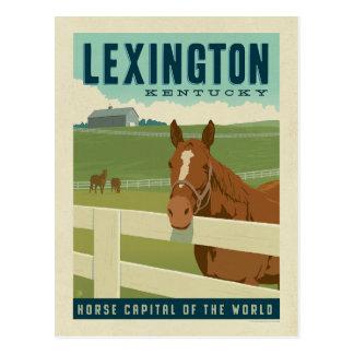Capital do cavalo de Lexington, KY | do mundo Cartão Postal