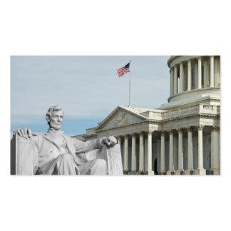 Capital & Lincoln dos Estados Unidos Cartão De Visita