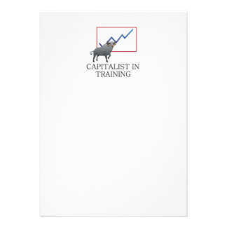 Capitalista do T no treinamento Convites Personalizados