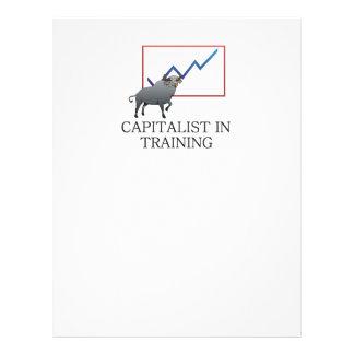 Capitalista do T no treinamento Modelos De Panfleto