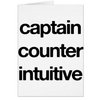 Capitão Contador Intuitivo Cartao