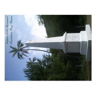 Capitão Cozimento Monumento Cartão Havaí