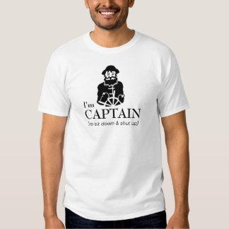 Capitão Pescador do barco Camisetas