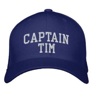 Capitão Tim Boné Bordado