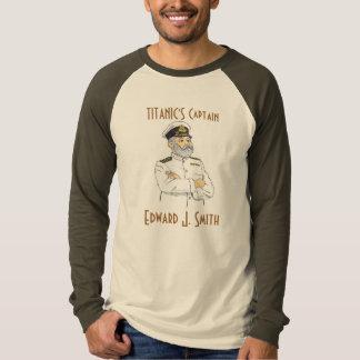 Capitão titânico Edward J. Smith T-shirts