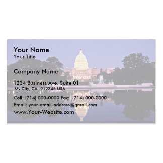 Capitólio dos Estados Unidos Modelos Cartão De Visita