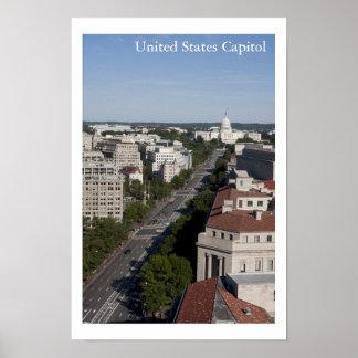 Capitólio dos Estados Unidos Pôsteres