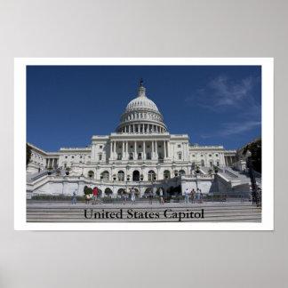 Capitólio dos Estados Unidos Pôster