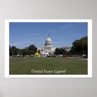Capitólio dos Estados Unidos Poster