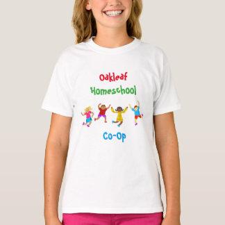 Capoeira de Homeschool do divertimento da criança Camiseta