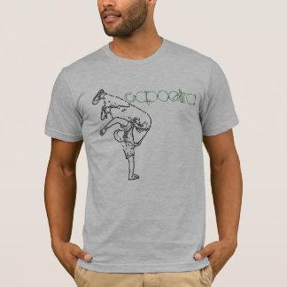 capoeira esboçado camisetas