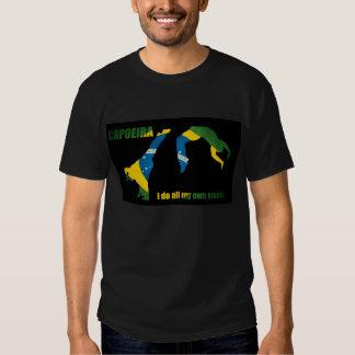 Capoeira: Eu faço todos meus próprios conluios T-shirts