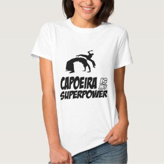 capoeira minha superpotência tshirt