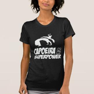 capoeira minha superpotência tshirts