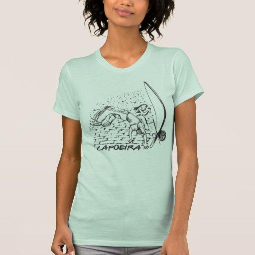 Capoeira na rua t-shirts