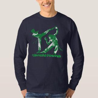 Capoeira regional (verde) camisetas