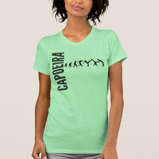Capoeira W verde Camiseta