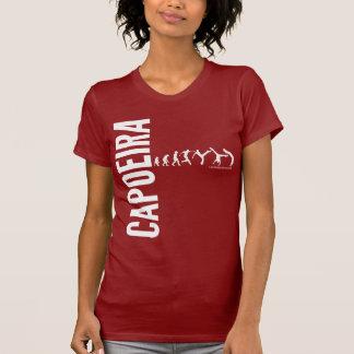 Capoeira w vermelho camiseta