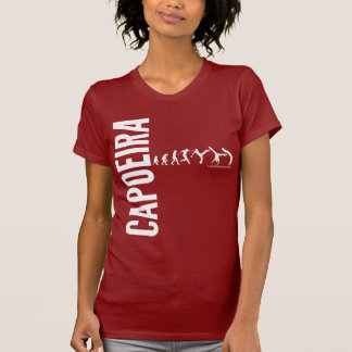 Capoeira w vermelho tshirt