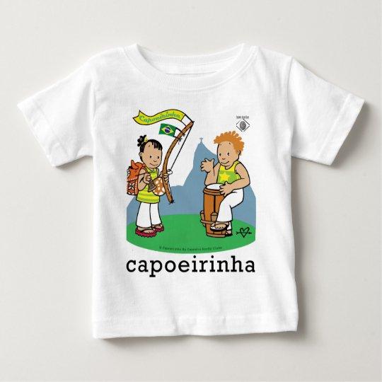 Capoeirinhas! Camiseta Para Bebê