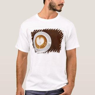 Cappuccino com amor camiseta