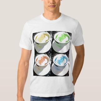 Cappuccino do pop art t-shirt