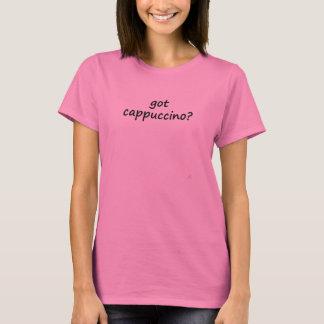 cappuccino obtido? camiseta