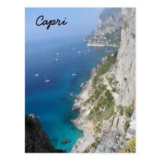 Capri, Italia Cartão Postal