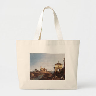 Capricho com motivos Venetian por Canaletto Sacola Tote Jumbo