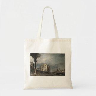 Capricho de Francesco Guardi- com motivos Venetian Bolsa Para Compra