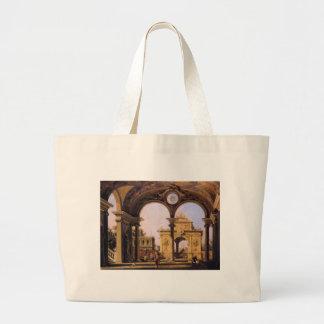 Capricho de um arco triunfal do renascimento visto sacola tote jumbo