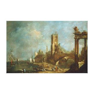 Capricho de um impressão das canvas do porto