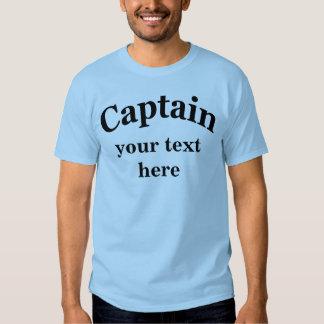 Captain para personalizar camiseta