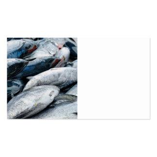 Captura do atum cartão de visita