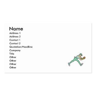 Captura do basebol cartão de visita