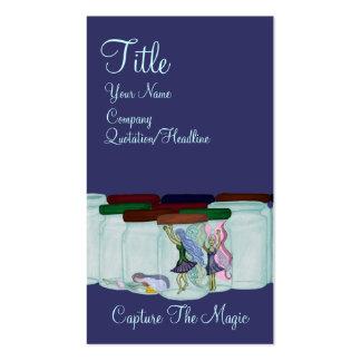 Capture a mágica cartão de visita
