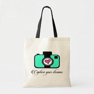 Capture seu bolsa da câmera dos sonhos