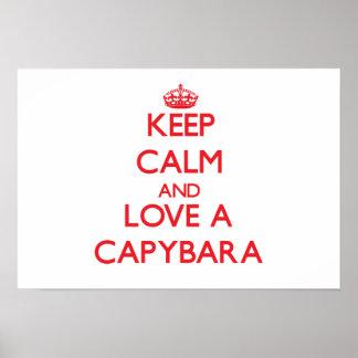 Capybara Posters