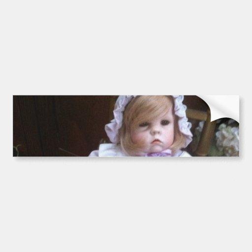 Cara da boneca adesivos