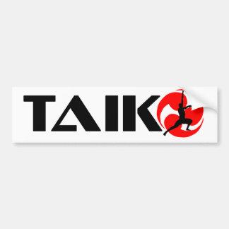 Cara de Taiko (design 3) Adesivo Para Carro