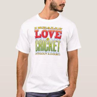 Cara do amor do grilo camiseta