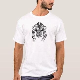 cara do crânio da morte camiseta
