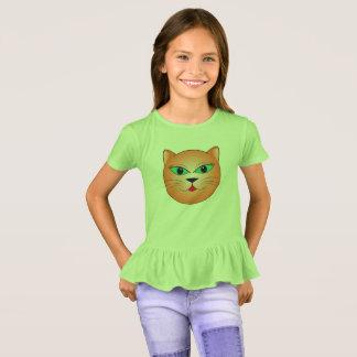Cara do gatinho camiseta