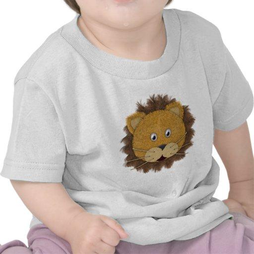 Cara do leão camisetas