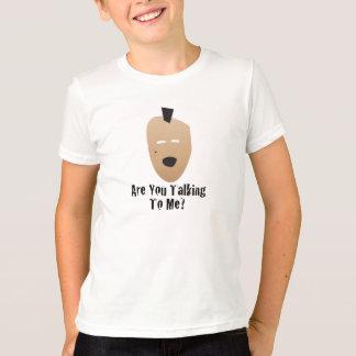 cara do mohawk camiseta