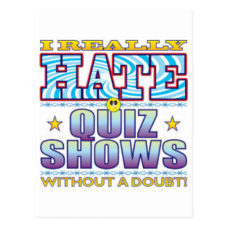 Cara do ódio das mostras do questionário cartão postal