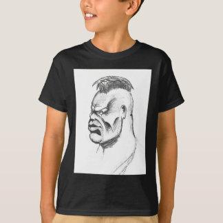 Cara do punk camiseta