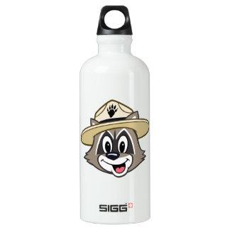 Cara do rick da guarda florestal do rick | da garrafa d'água de alumínio