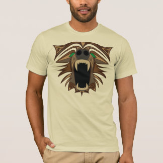 Cara do urso camiseta